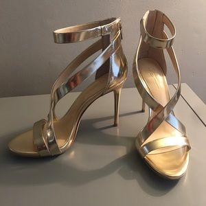 Vince Camuto Gold Heel